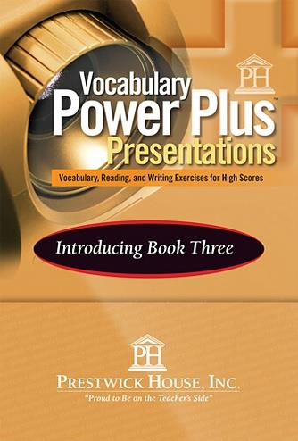 Vocabulary Power Plus Presentations: Introduction - Level 11