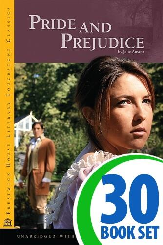 Pride and Prejudice - 30 Books and Activity Pack