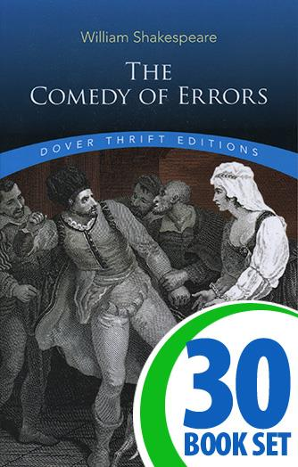 Comedy of Errors, The - 30 Books and Teaching Unit