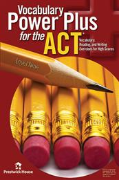 Vocabulary Power Plus for the ACT - Level 9