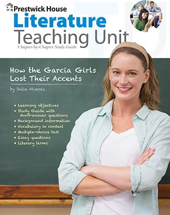 How the Garcia Girls Lost Their Accents - Teaching Unit