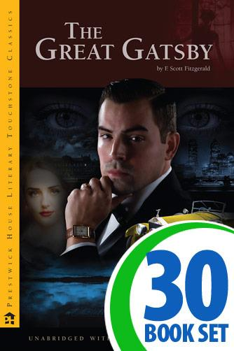 Great Gatsby, The - 30 Books and Complete Teacher's Kit