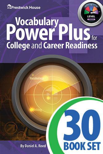 Vocabulary Power Plus for College and Career Readiness - Level 12 - Complete Set
