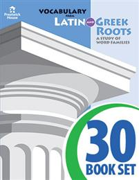 Vocabulary from Latin and Greek Roots - Book V - Complete Set