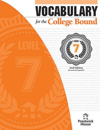 Vocabulary for the College Bound: Level 7