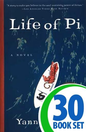 life of pi 30 books and activity pack. Black Bedroom Furniture Sets. Home Design Ideas