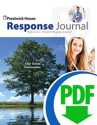 Our Town - Downloadable Response Journal
