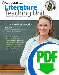 Midsummer Night's Dream, A - Downloadable Teaching Unit