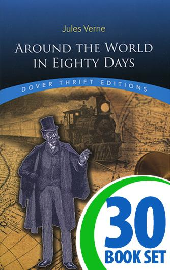 Around the World in Eighty Days - 30 Books and Teaching Unit