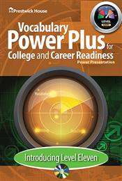 Vocabulary Power Plus for College and Career Readiness - Level 11 - Introduction Power Point