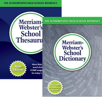 Merriam-Webster School Dictionary and Thesaurus Set