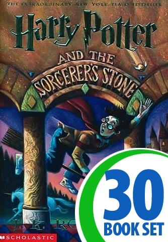 Harry Potter and the Sorcerer's Stone - 30 Books and Puzzle Pack (CD-ROM)