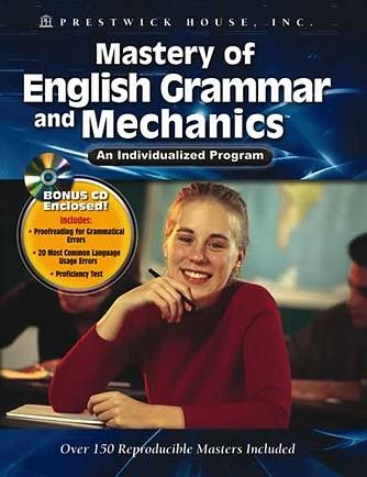 Mastery of English Grammar and Mechanics