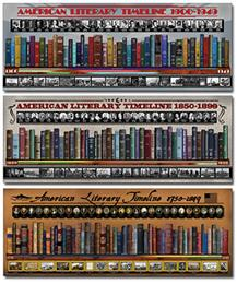American Literary Timeline Complete Poster Set