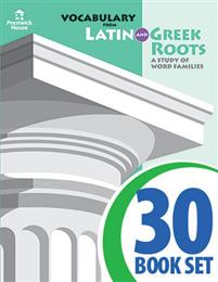 Vocabulary from Latin and Greek Roots - Book VI - Complete Set