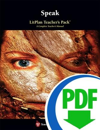 Speak: LitPlan Teacher Pack - Downloadable