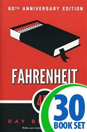 Fahrenheit 451 - 30 Books and Activity Pack