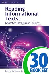 Reading Informational Texts - Book I - 30 Books and Teacher's Edition