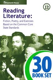 Reading Literature - Level 12 - 30 Books and Teacher's Edition