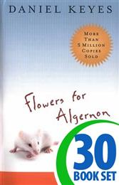 Flowers for Algernon - 30 Books and Puzzle Pack (Reproducible)