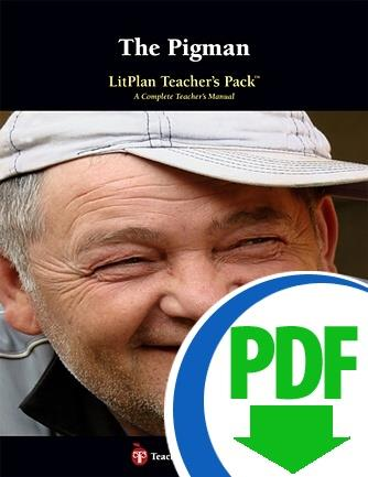 Pigman, The: LitPlan Teacher Pack - Downloadable