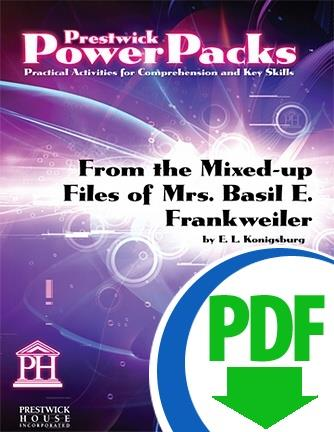 From the Mixed-up Files of Mrs. Basil E. Frankweiler - Downloadable Power Pack