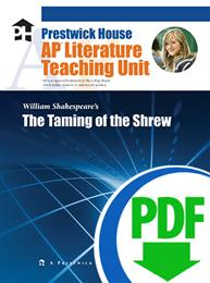 Taming of the Shrew, The - Downloadable AP Teaching Unit