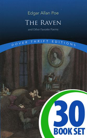 Raven and Other Favorite Poems, The - 30 Books and Teaching Unit