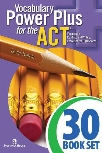Vocabulary Power Plus for the ACT - Level 12 - Complete Package