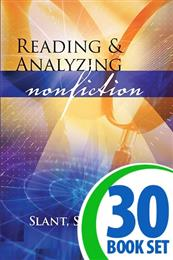 Reading & Analyzing Nonfiction: Slant, Spin & Bias - 30 Books and Teacher's Edition