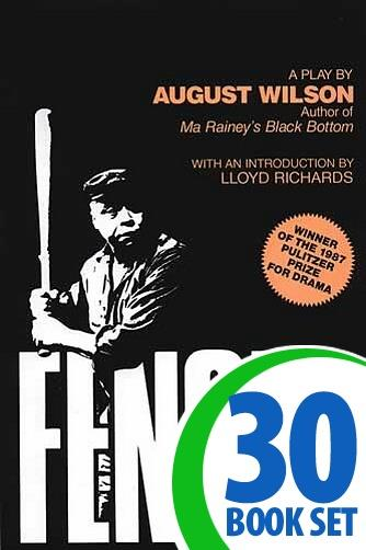 Fences: A Play - 30 Books and Complete Teacher's Kit