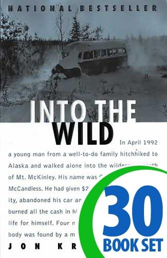 Into the Wild - 30 Books and Complete Teacher's Kit