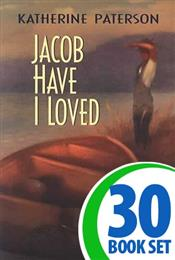 Jacob Have I Loved - 30 Books and Puzzle Pack (Reproducible)