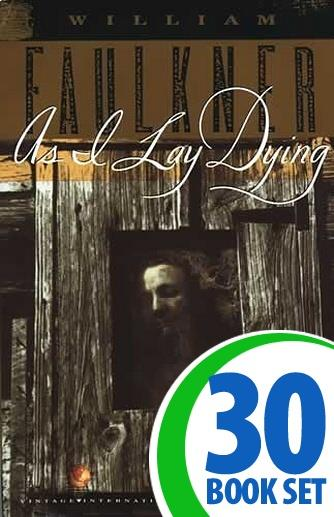 As I Lay Dying - 30 Books and Teaching Unit