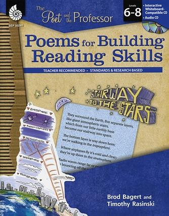 Poet and the Professor, The: Poems for Building Reading Skills Level 6-8