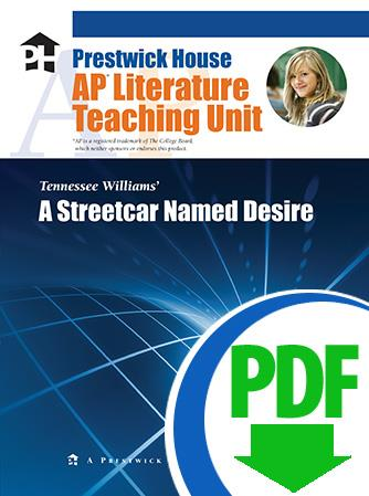 Streetcar Named Desire, A - Downloadable AP Teaching Unit
