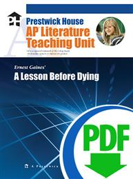 Lesson Before Dying, A - Downloadable AP Teaching Unit