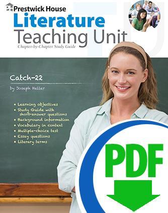 catch 22 downloadable teaching unit prestwick house rh prestwickhouse com Study Guide Format Winter Dreams Study Guide Answers