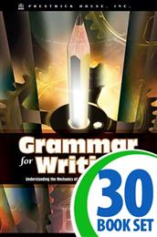 Grammar for Writing - 30 Books and Teacher's Edition