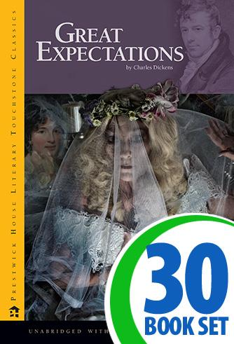 Great Expectations - 30 Books and LitPlan Teacher Pack (CD-ROM)