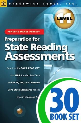 Preparation for State Reading Assessments: Practice Makes Perfect - Level 11