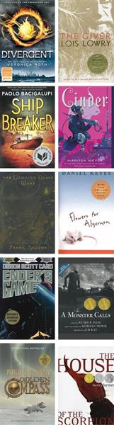 Sci-Fi and Dystopian Classroom Library - Grades 7-8