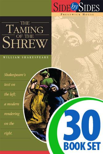 Taming of the Shrew, The - Side by Side - 30 Books and Key