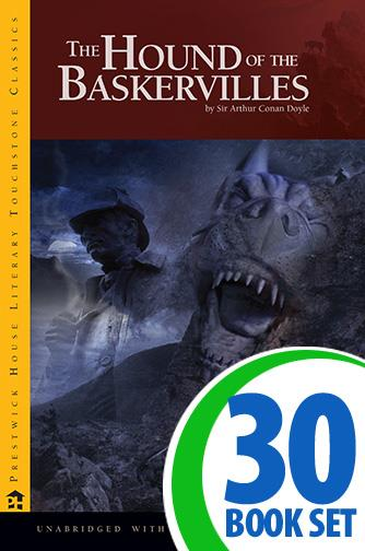 Hound of the Baskervilles, The - 30 Books and Teaching Unit