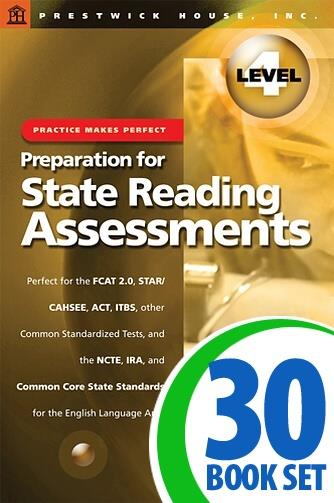Preparation for State Reading Assessments: Practice Makes Perfect - Level 4