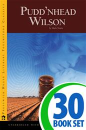 Pudd'nhead Wilson - 30 Books and Teaching Unit