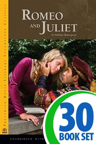 Romeo and Juliet - 30 Books and Activity Pack