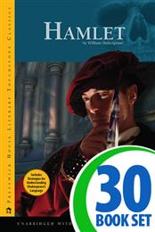 Hamlet - 30 Hardcover Books and Teaching Unit