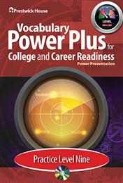 Vocabulary Power Plus for College and Career Readiness - Level 9 - Practice Power Point