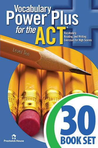 Vocabulary Power Plus for the ACT - Level 10 - Complete Package